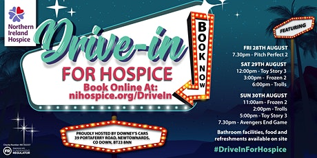 Northern Ireland Hospice Drive In Cinema tickets