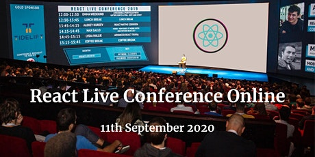 React Live Online Conference 2020 tickets