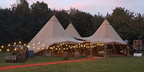 Wedding fayre visit our venue &tipis, meet our favourite suppliers tickets