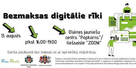 Bezmaksas digitālie rīki tickets