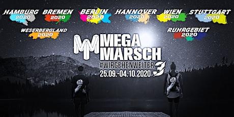 Megamarsch Spezial #WIRGEHENWEITER 25.09.- 04.10.2020 entradas