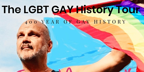 GAY History Tour. 400 years of gay history by Henk. Ook in het Nederlands. tickets