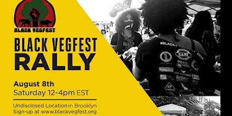 Black VegFest Rally tickets