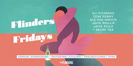 Flinders Fridays ~ 7th August tickets