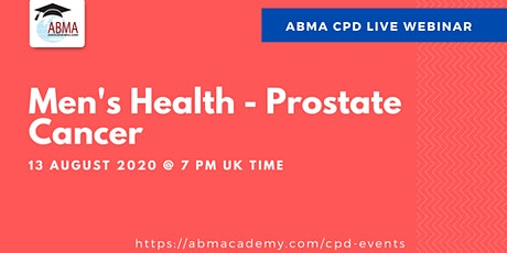 Men's Health (Prostate Cancer) tickets