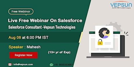 Salesforce Training at Vepsun Technologies tickets