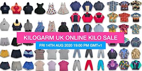 KILOGARM UK ONLINE KILO SALE AUGUST 14TH - 16TH 7PM GMT+1 tickets