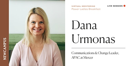 Virtual Mentoring | Power Ladies Breakfast with Dana Urmonas Tickets