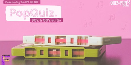PopQuiz, 90's & 00's editie  | Utrecht tickets