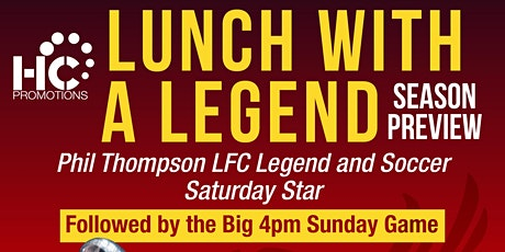 Lunch with a Legend (Season Preview) - with Phil Thompson tickets