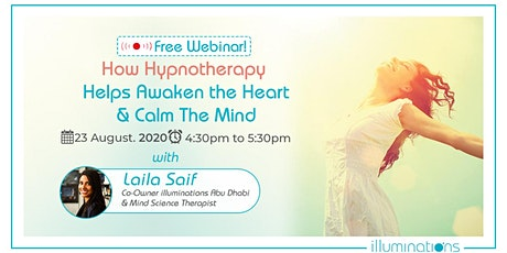 How Hypnotherapy Helps Awaken The Heart & Calm The Mind tickets