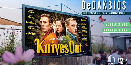 DeDAKBIOS: Film op het dak! | Knives Out tickets
