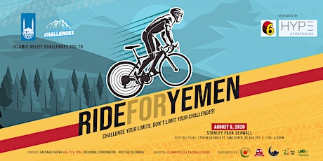 Ride for Yemen: Vancouver tickets