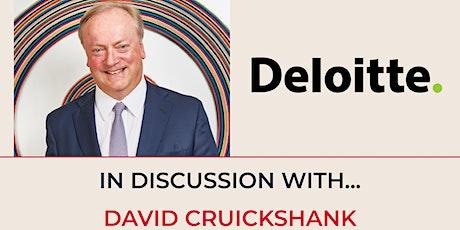 Alumni 100 - In Discussion with David Cruickshank tickets