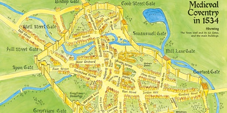 Coventry's Medieval Wall Guided Tour  Socially Distanced -Deep Fact Friar tickets