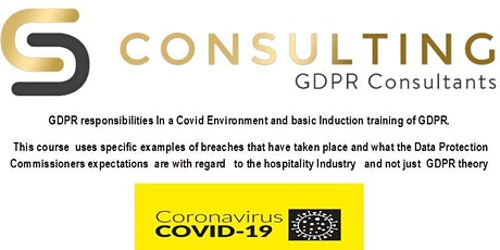 GDPR  Responsibilities in a Covid environment tickets