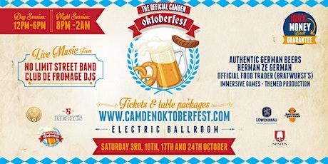 Camden Oktoberfest tickets