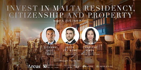 Invest in Malta Residency, Citizenship & Property tickets