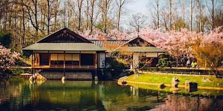 Japanse Tuin 9 augustus van 10u tot 13u billets