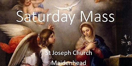 Book Online: Saturday Mass (St Joseph) tickets