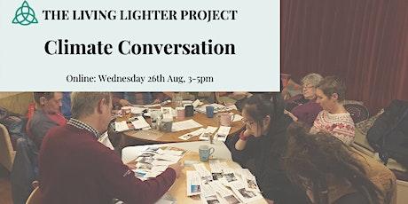 Living Lighter: Climate Conversation tickets