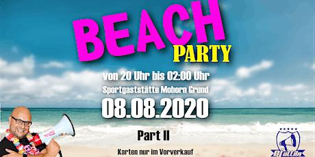 Beach Party im Waldbad Mohorn | DJ Attila Tickets