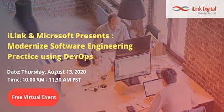"Microsoft & iLink: ""Modernize Software Engineering Practice using DevOps"" tickets"
