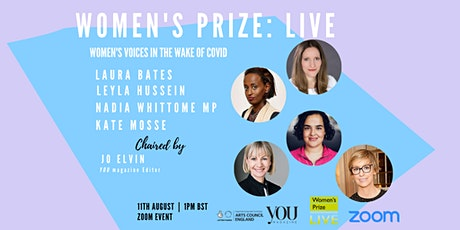 Women's Prize LIVE: Women's Voices in the Wake of COVID tickets
