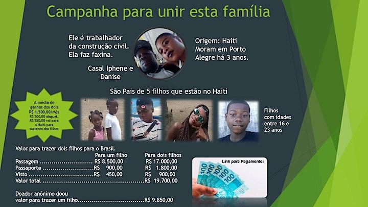 Imagem do evento Campanha para unir esta familia