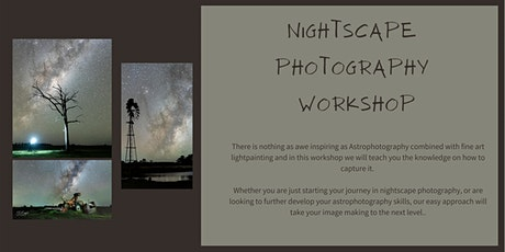 Nightscape Photography Workshop tickets