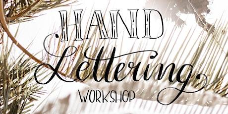 Handlettering Workshop für Anfänger Tickets