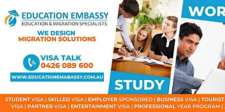An Event on the awareness of immigration and visa services in Brisbane tickets