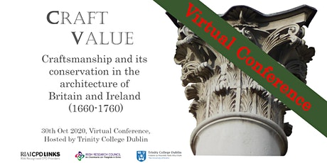Craftsmanship & its Conservation in the Architecture of Britain & Ireland tickets