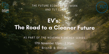 EV's:  The Road to a Cleaner Future(Energy Series Part 3) tickets