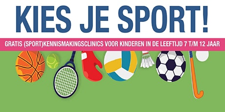 Kies je Sport! - Tennis tickets