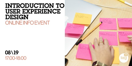 Introduction to User Experience Design |Online Info Event tickets