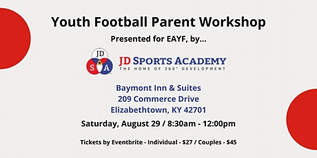 Youth Football Parent Workshop tickets