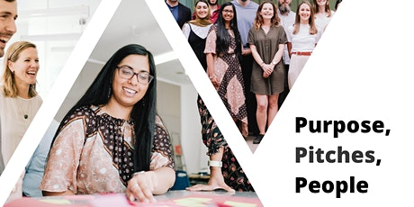 Purpose, Pitches, People - der On Purpose Infoabend Tickets