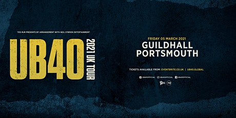 UB40 2021 (Portsmouth, Guildhall) tickets
