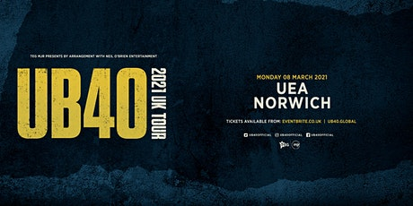 UB40 2021 (UEA, Norwich) tickets