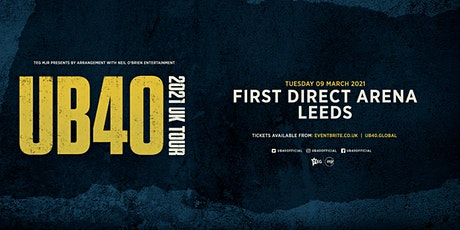 UB40 2021 (First Direct Arena, Leeds) tickets