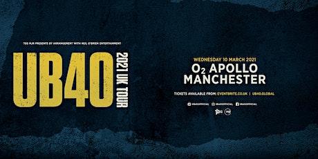 UB40 2021 (O2 Apollo, Manchester) tickets