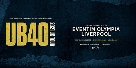 UB40 2021 (Olympia, Liverpool) tickets