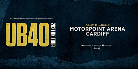 UB40 2021 (Motorpoint Arena, Cardiff) tickets
