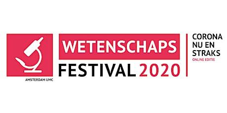 Wetenschapsfestival 2020 Online Editie 'Corona nu en straks' tickets
