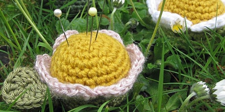 Not Quite Beginner Crochet | Daisy, Daisy Pincushion tickets