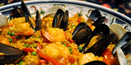 Harpers Catering Spanish Paella & Sangria Pop Up Dinner. £38.50 per head tickets