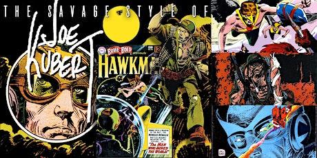 'The Savage Style of Joe Kubert, Comic Book Illustrator' Webinar tickets