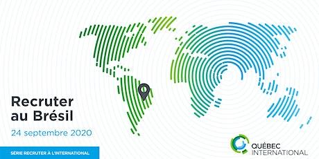 Série Recruter à l'international — RECRUTER AU BRÉSIL billets