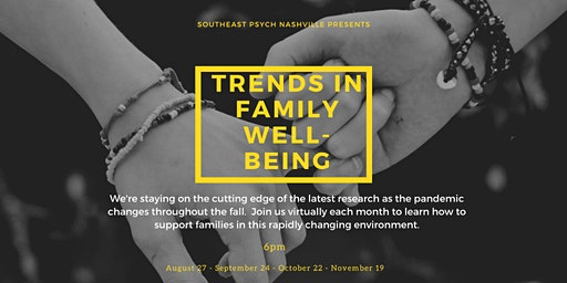 Current Trends in Family Well-being